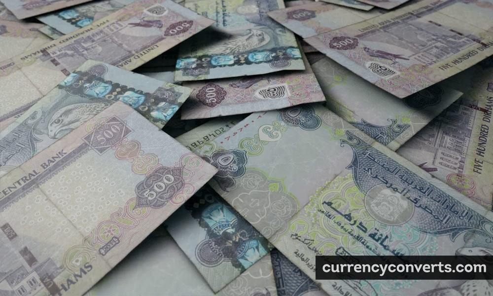 UAE dirham - AED money image