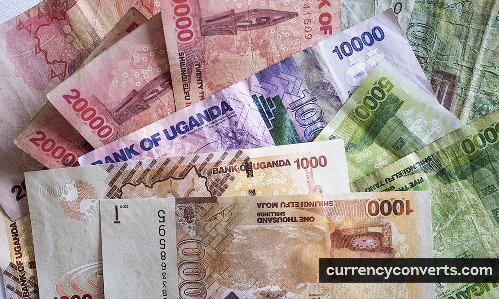 Ugandan shilling - UGX money image