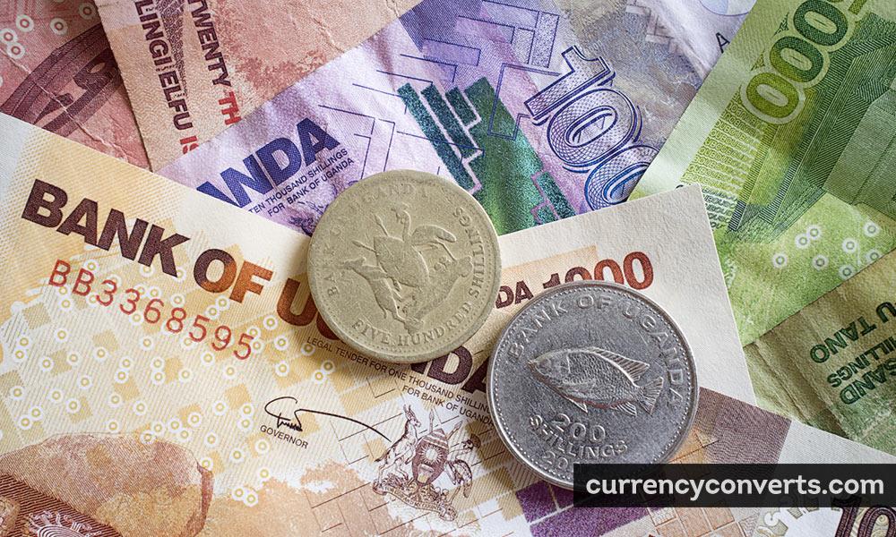 Ugandan Shilling UGX currency banknote image