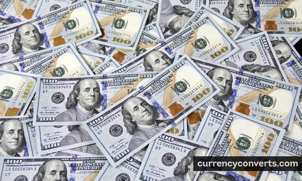United States Dollar USD currency banknote image