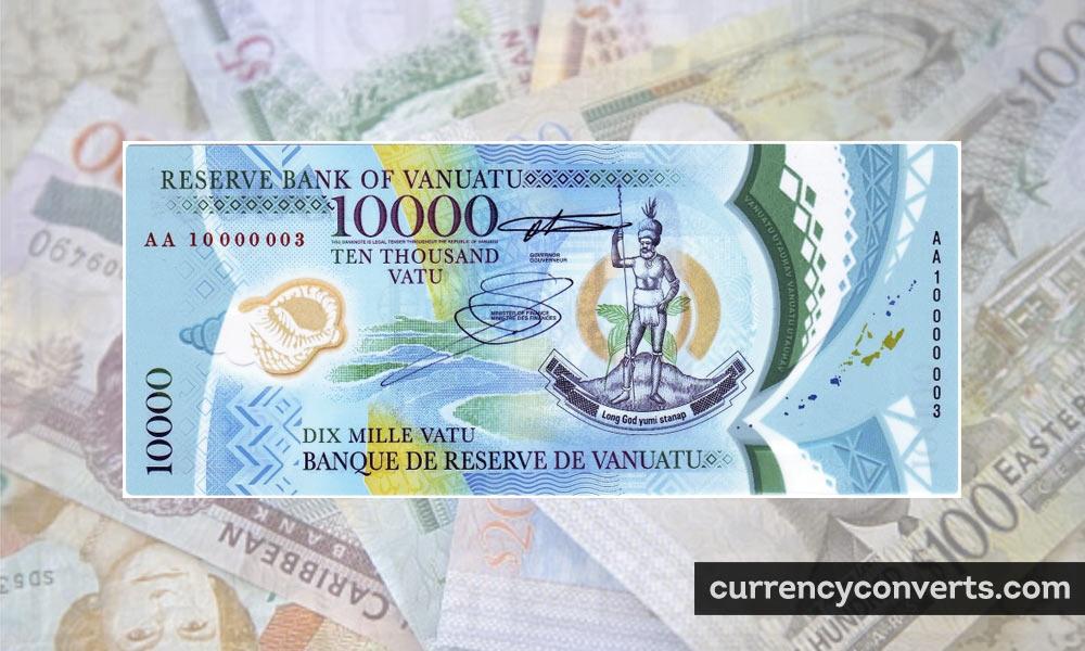 Vanuatu Vatu VUV currency banknote image