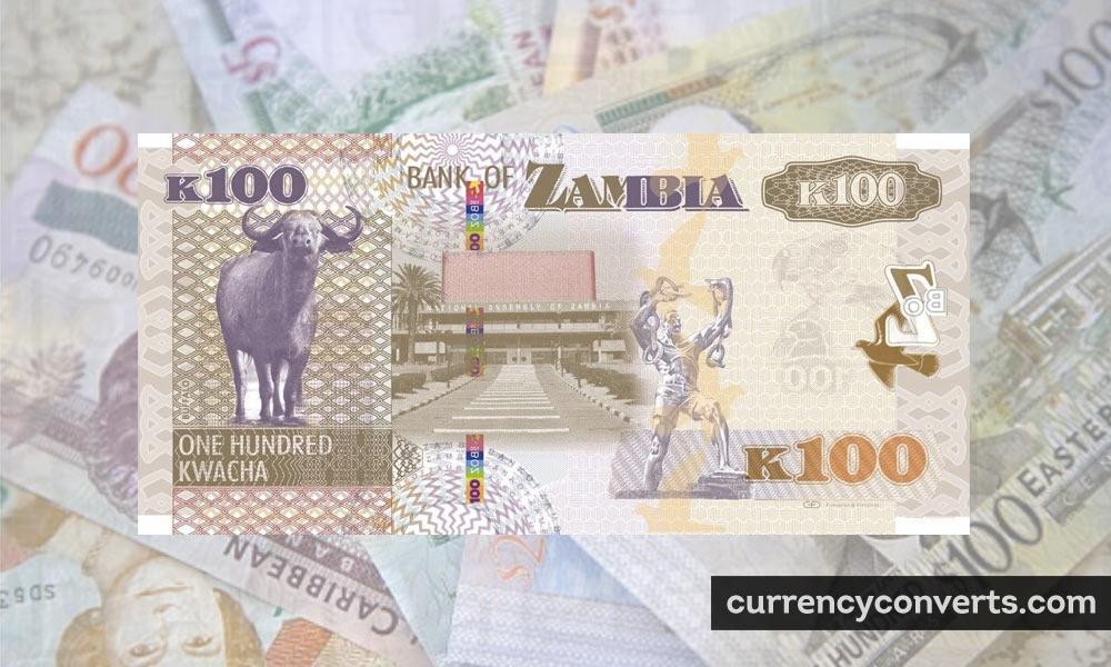 Zambian kwacha - ZMW money image