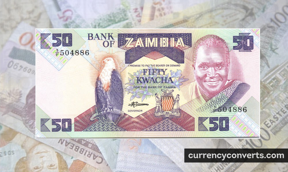 Zambian Kwacha ZMW currency banknote image
